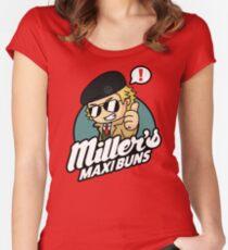 Miller's Maxi Buns Women's Fitted Scoop T-Shirt