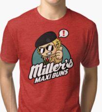 Miller's Maxi Buns Tri-blend T-Shirt