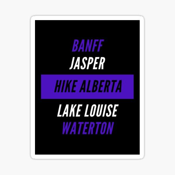 Hike Alberta Sticker