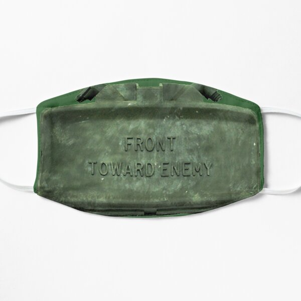 Front Towards Enemy - Claymore  Flat Mask