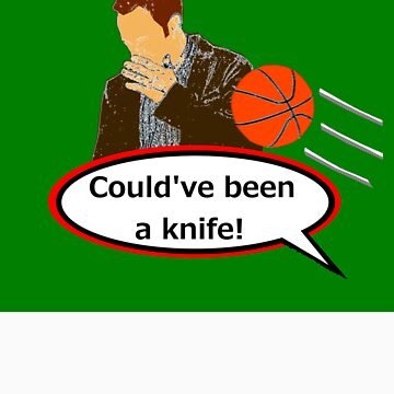 Could've Been a Knife! sticker alternative by REDROCKETDINER