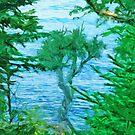 Spirit Tree Lake Superior Minnesota by pjwuebker