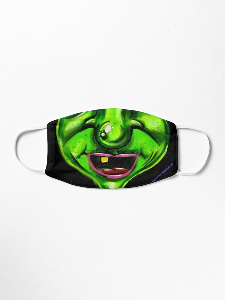 Alternate view of Witch/Ogre Mask Mask