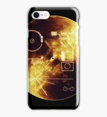 Cool Voyager Golden Record Iphone case iPhone Case/Skin