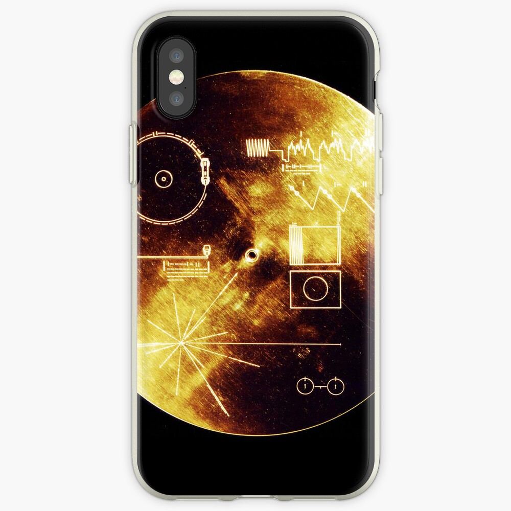 Cool Voyager Golden Record Iphone case iPhone-Hülle & Cover