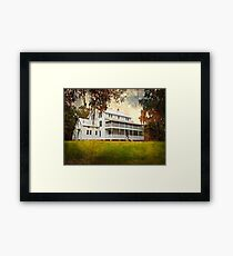 Thursby House Blue Springs Framed Print