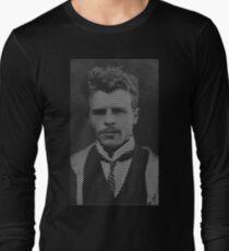 Hermann Rorschach Lines Long Sleeve T-Shirt