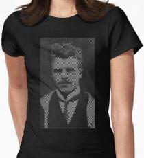 Hermann Rorschach Lines Women's Fitted T-Shirt