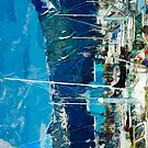 Seward Harbor Alaska Abstract Impressionism 2 by pjwuebker