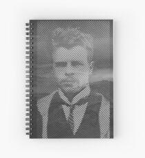 Hermann Rorschach Lines Spiral Notebook