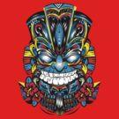 Tiki Mask by candelakis