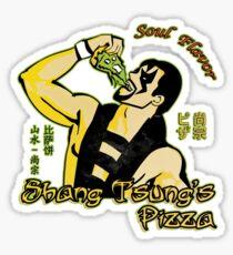 Shang Tsung's Pizza Sticker