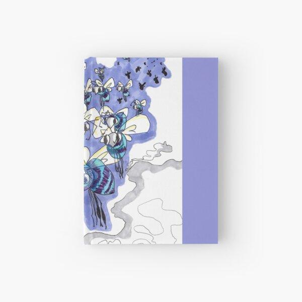 Bee Storm Hardcover Journal