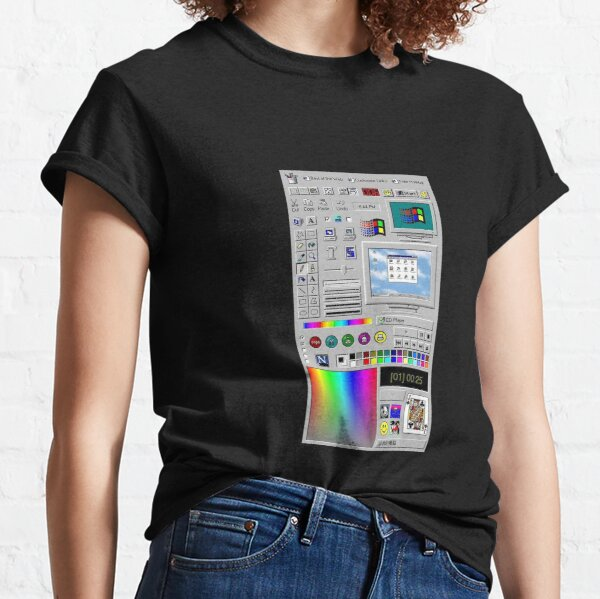Microsoft Windows 98 Server Classic T-Shirt