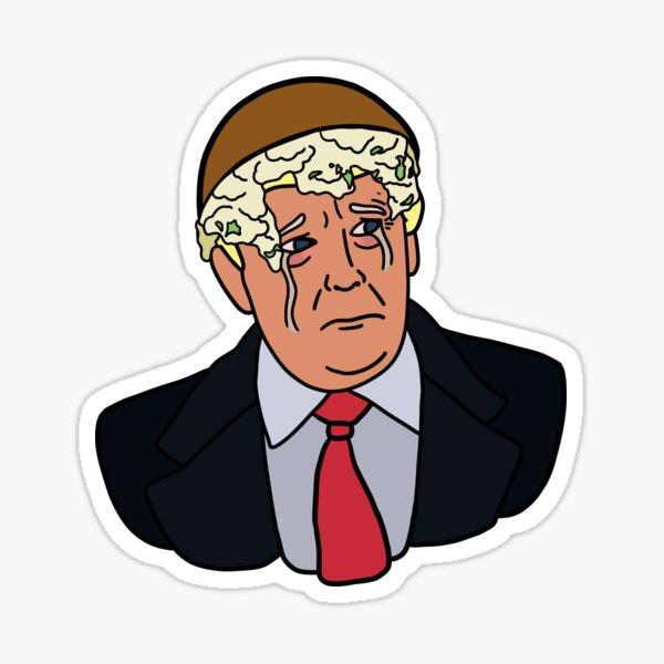 Mashed Potato Trump Sticker