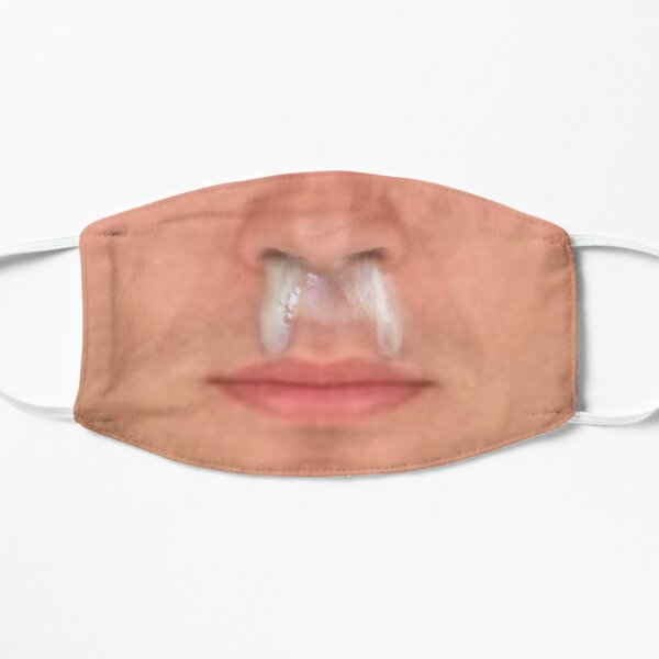 funny gross snot face man Mask