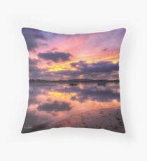 Purple Bembridge Throw Pillow