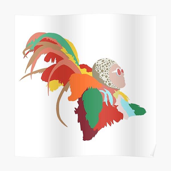 Tenues Elton John Feather Poster