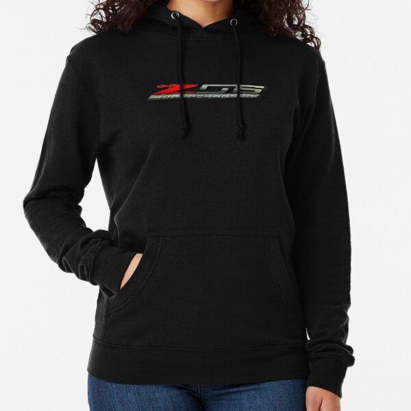 C7 Corvette Z06 Supercharged Logo Lightweight Hoodie