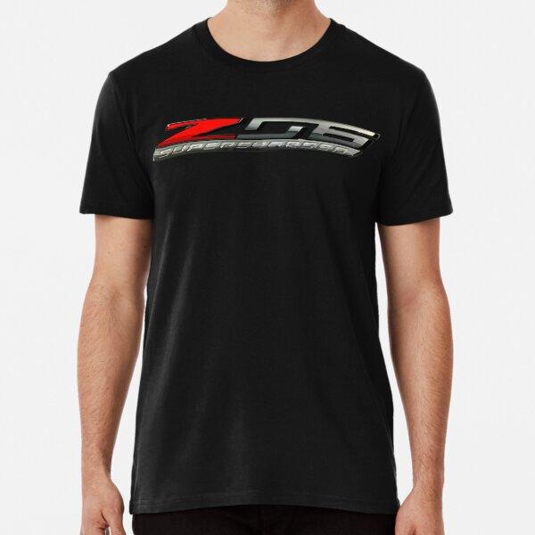 C7 Corvette Z06 Aufgeladenes Logo Premium T-Shirt