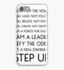 NOW I AM THE VOICE I WILL LEAD iPhone Case/Skin