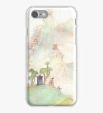 Misty Mountain Tardis iPhone Case/Skin
