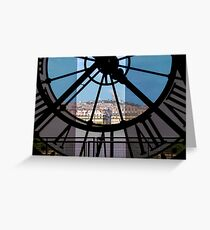 Musée d'Orsay and Paris Greeting Card