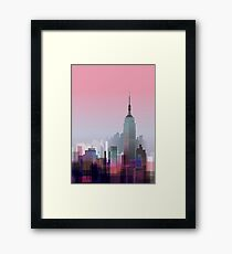 New york, NYC city ! Framed Print