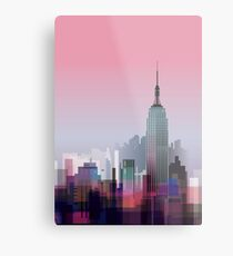 New york, NYC city ! Metal Print