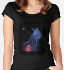 Celestial Women's Fitted Scoop T-Shirt