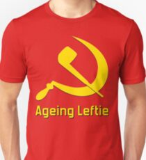 Aging Leftie Unisex T-Shirt