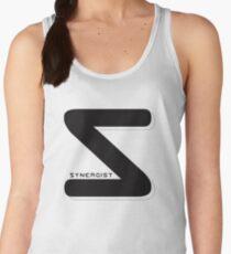 Synergist Logo Tee (black S) Women's Tank Top