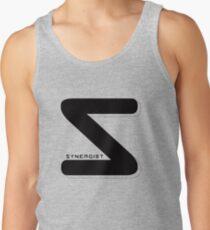 Synergist Logo Tee (black S) Tank Top