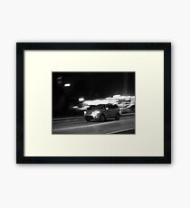 Looking Upon Ludicrous Speed Framed Print