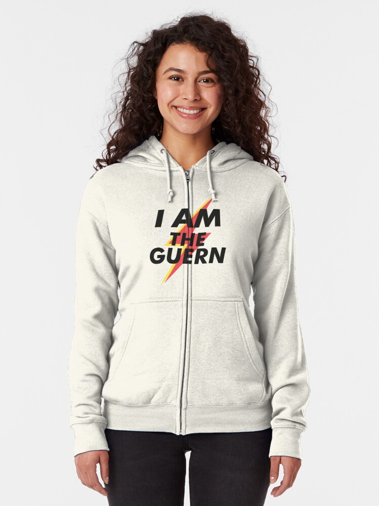 Alternate view of I Am The Guern Zipped Hoodie