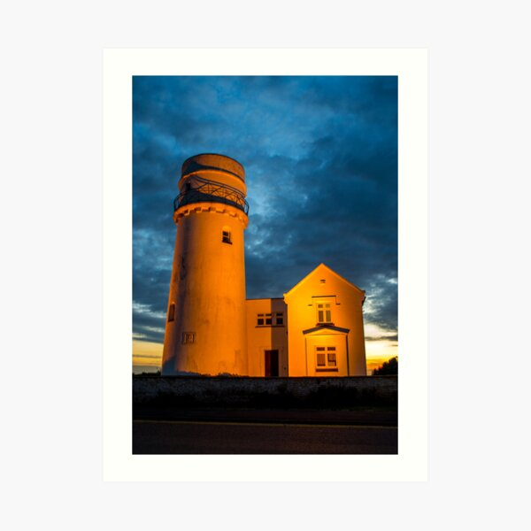 Hunstanton Lighthouse Art Print