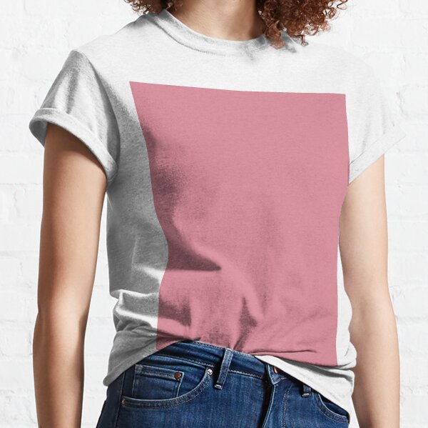 Shimmering Blush Pink Color Classic T-Shirt