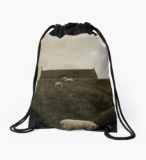 Back In The Field Drawstring Bag