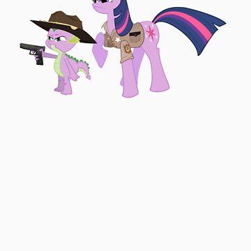 Twilight Rick and Spike Carl by PoetElise