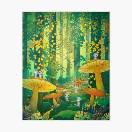 Enchanted Art Board Print