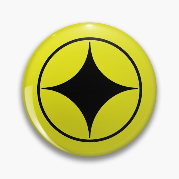 Towa Hololive Vtuber - Yellow Sparkle Button Badge for Cosplay Pin
