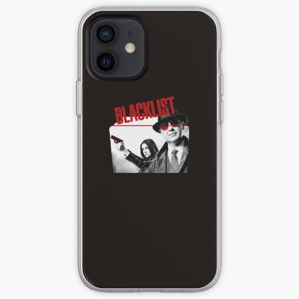 Découvrez Cool Femmes Classic The Blacklist Season T-shirts Noir Coque souple iPhone