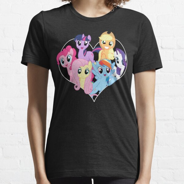 chest heart ponies  Essential T-Shirt