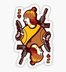 Jayne of Hearts Sticker