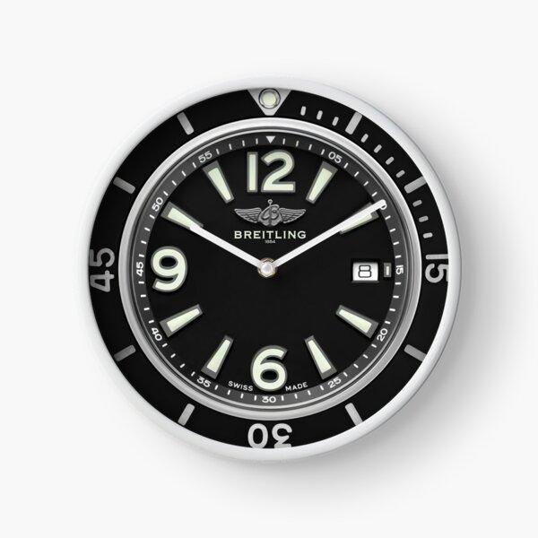 Breitling SUPEROCEAN AUTOMATIC 42 Black Dial Clock