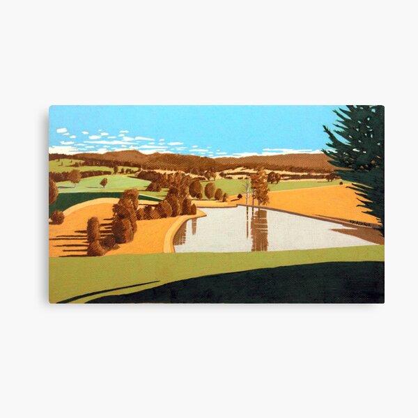 Farm Dam, Ringarooma Canvas Print