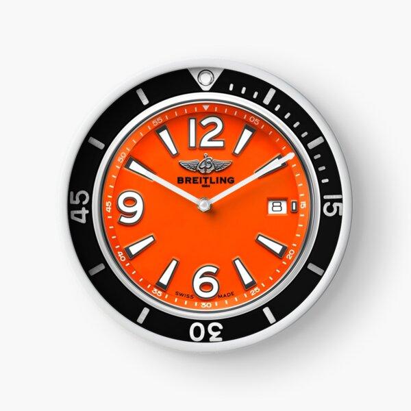 Breitling SUPEROCEAN AUTOMATIC 42 Orange Dial Clock