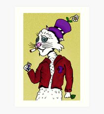 Othello the Philly Street Cat Art Print