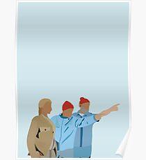 Minimal The Life Aquatic with Steve Zissou Poster Poster