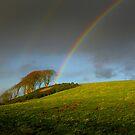 Rainbow Behind West Kilbride by George Crawford
